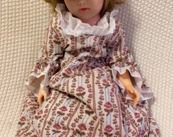 1950s doll with unique clothes