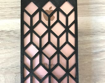 Iphone case graphic / 3D printed