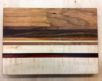 Cutting Board Multiple Hardwoods