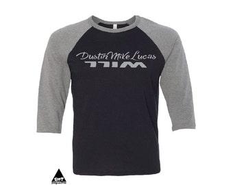 Stranger Things Shirts Unisex Three-Quarter Sleeve Baseball Shirt