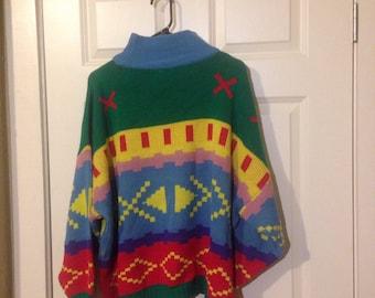 80s avon sweater oversized