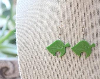 Earrings   New Leaf
