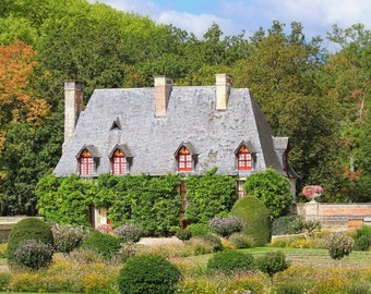 French cottage, French country, Loire Valley, fine art photography, French country decor, romantic, French art print, French home decor