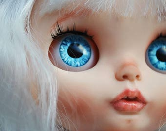 Charlotte. OOAK custom Blythe doll art.I will make to order