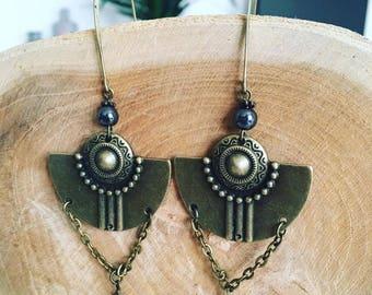 "Earrings for ""Ethnic charm"""
