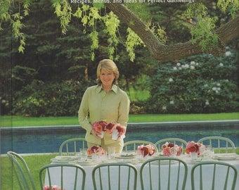 Best of Martha Stewart Living: Great Parties - 120 Recipes, Menus & Ideas, Hardcover 1997 Cookbook