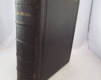 Antique Large HOLY BIBLE - To Be Read In Churches