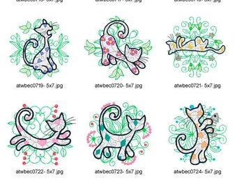 My-Cat-in-The-Garden ( 10 Machine Embroidery Designs from ATW )