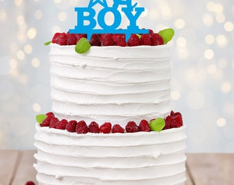 Its A Boy Cake Topper   Gender Reveal   Blue   Baby Cake Topper   Babyshower  Boy   Newborn Boy   Baby Boy, Baby Boy Shower   Baby Shower Boy
