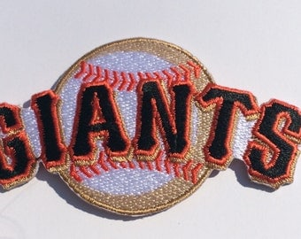 San Francisco Giants Embroidered Iron On or Sew on Patches San Fran Giants sturdy great quality patches