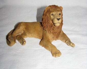 Figurine Castagna LION 1989 Italian collector figure big cat