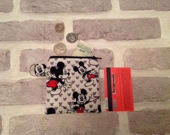 Mickey mouse coin purse, Mickey mouse change purse, Disney coin purse, Disney, Mickey Mouse, disney gift, birthday gift, disney lover