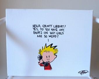 Calvin and Hobbes (Girls)