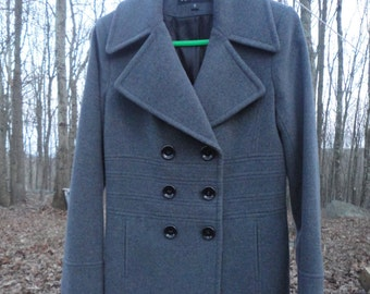 Via Spiga Fitted Coat Size 8