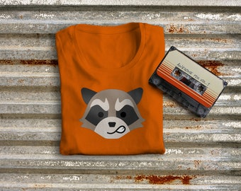 Feisty Raccoon SVG File Cutting Template