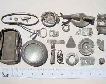 Aluminium-corroded metal-craft/art supplies-rare beach finds