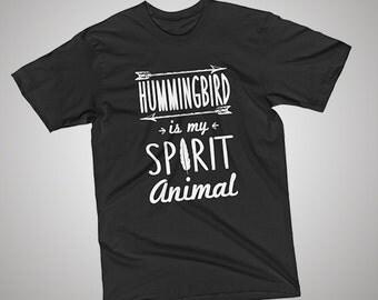 Hummingbird Spirit Animal T-Shirt