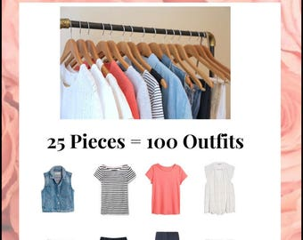 The Essential Capsule Wardrobe: Summer 2017 Collection
