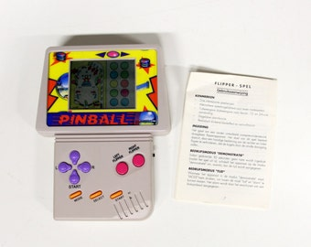 Vintage handheld Video Game-Pinball-Pinball-90