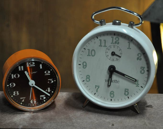 Vintage mechanical clocks