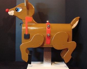 Rudolph Mailbox