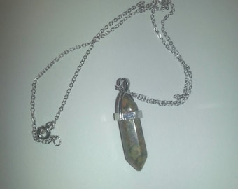 Calico Crystal Necklace