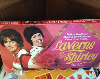 Vintage 1977 Laverne and Shirley Board Game