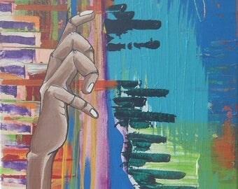 Original: Expressionist Art- Music Series