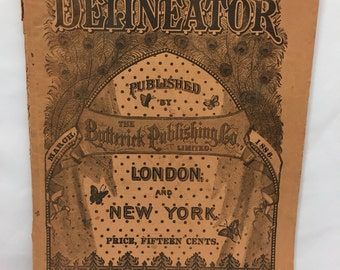 Delineator Magazine March 1886
