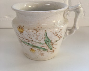 Porcelain Hand Painted Cup, American From the Mid 1800's