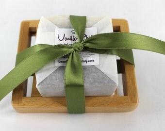 Soap With Soap Dish Gift Set - Handmade Soap Soap Dish - you choose the soap