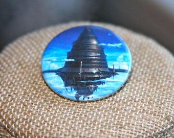 Sword Art Online Aincrad Button, Sword Art Online Aincrad Pin