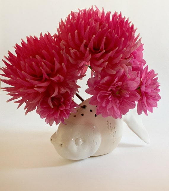 Ceramic Fish, modern ceramics and pottery, home decor, porcelain vase, stoneware, housewarming gift, christmas gift ideas, handmade ceramics