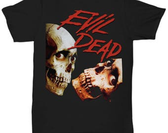 Evil Dead Army Of Darkness Horror Zombies Movie shirt Tee T-shirt  S - 5XL  Black 5