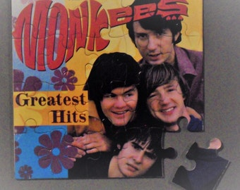 Monkees CD Cover Magnetic Puzzle
