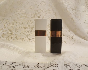 Vintage Chanel Atomizer Pair Factice Display Atomizers Chanel No. 5 Chanel No. 22 - Pair of Chanel Atomizers for Display