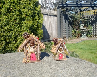 Hand-Made Fairy Cottages (Rock & Shingle Style)