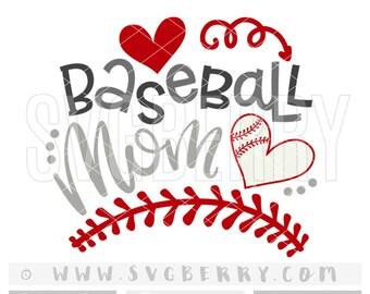 Baseball Mom SVG / love baseball / baseball mama momma / baller love my boy / loud and proud baseball mom mama / cut files cutting files /Bg