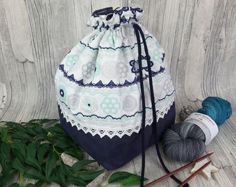 Knitting bag / spider bag (large) - FB 6.