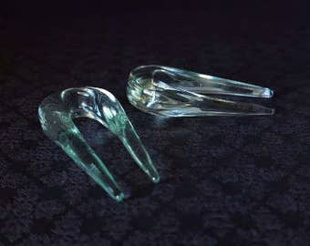 Glass U Shaped Tapers (8G- 00G)
