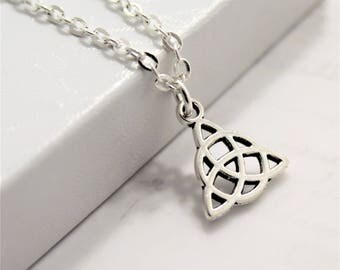 Celtic Trinity Knot - Celtic Knot Necklace - Celtic Knots Jewelry - Trinity Knot Necklace - Celtic Jewelry