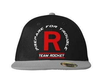 Team Rocket Snapback Cap inspired by Pokemon