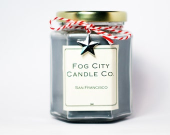 Moonlight Musk - Handmade Scented Soy Candle - Gifts for Her, Gifts for Him, Gift for Dad, Home Decor - Best Scented Candles From SF!