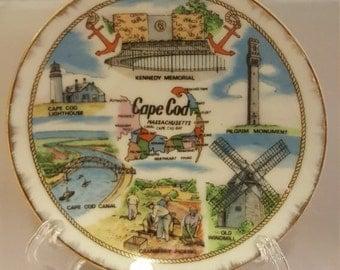 Small Cape Cod vintage souvenir dish.