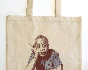 James Baldwin Tote Bag