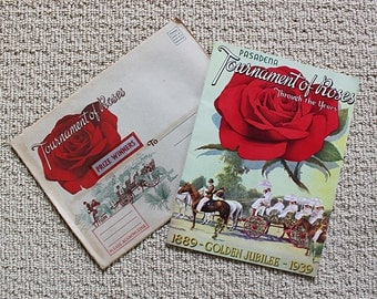 Tournament of Roses 1939 Golden Jubilee - 32 Page Program