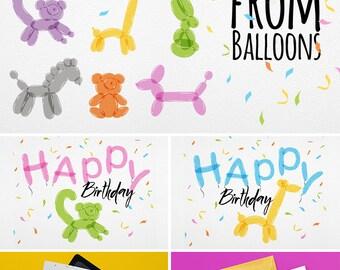 Animals Balloons