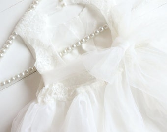 Open Back Lace Flower Girl Dress, Lace Rustic Flower Girl Dress, Country Flower Girl Dress, Tulle Tutu Flower Girl Dresses, Sweetheart Dress