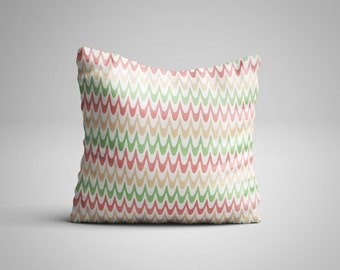 Pastel Waves Cushion.