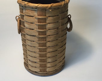 Beverage cooler from basket, mid century modern, vintage, 60 he years, ice bucket
